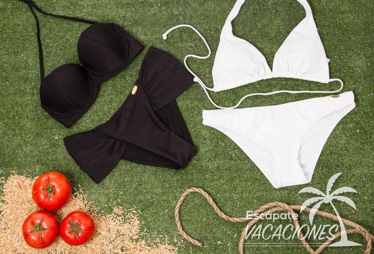 ¿Cual de los dos usarías?  Vestidos de baño desde $34.900 en nuestros almacenes de Corazón