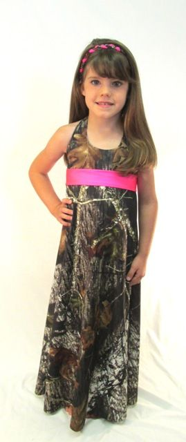 Kaitlyn Girls Toddler and Youth Camo Formal Dress - $69.99