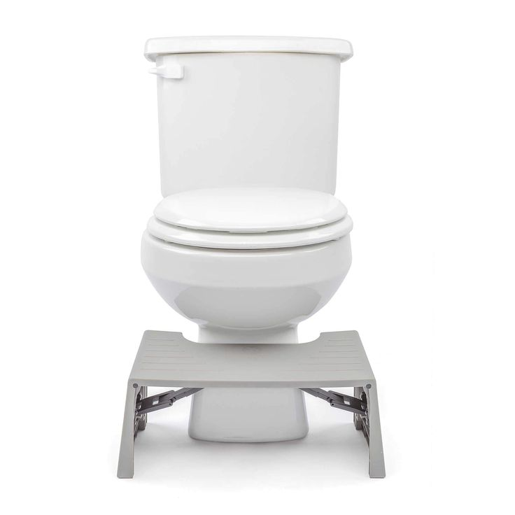 Squatty Potty® Porta-Squatty™ Foldable Toilet Stool in Grey