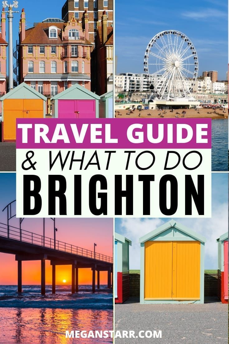 20 Colorful And Delicious Things To Do In Brighton England In 2020