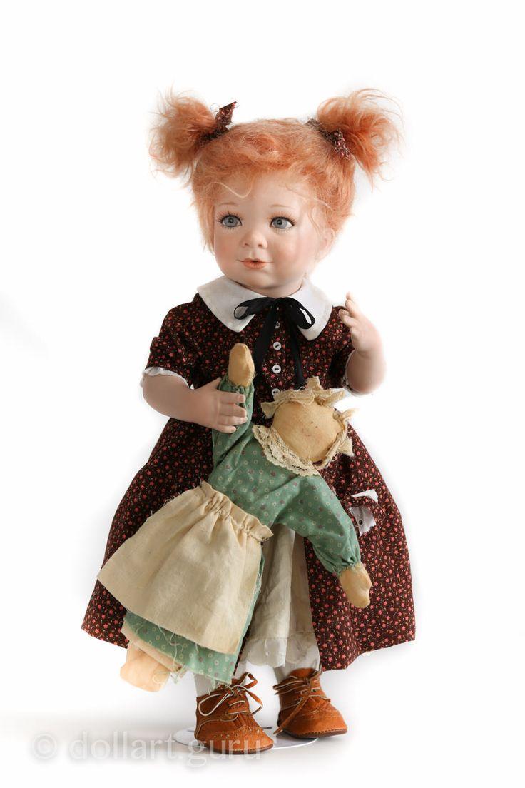 Ciara. Фарфоровая кукла Линды Стил | Doll Art Guru