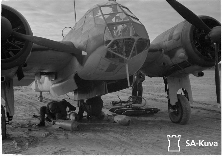 Finnish Air Force Bristol Blenhiem I