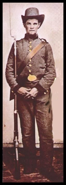 Private Sam R. Watkins, 1st Tennessee