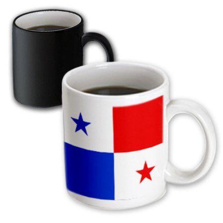 3dRose Panama Flag, Magic Transforming Mug, 11oz