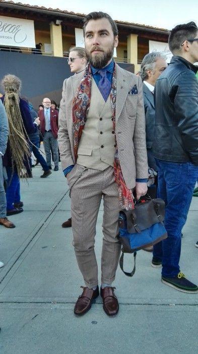"takablotaro: ""Street style Pitti Uomo 89 – Powered by Huawei – Day 2 - Stil Masculin .ro """