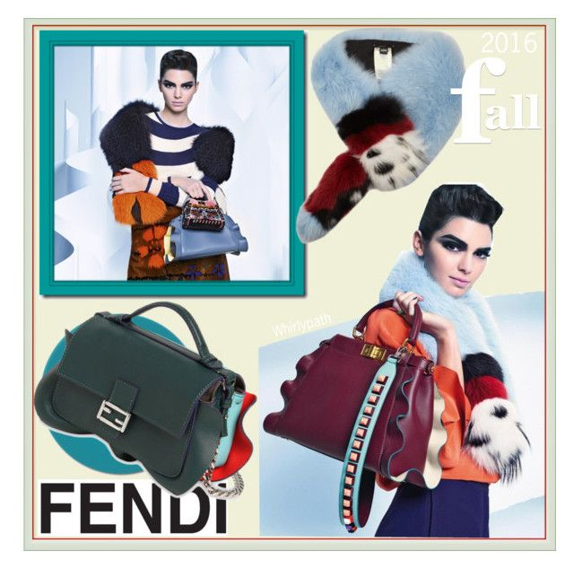 Fendi Fall 2016 fea. Kendall Jenner by whirlypath on Polyvore featuring Fendi