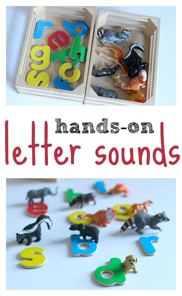 letter sounds activity for pre-kindergarten and kindergarten