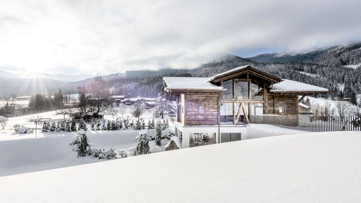 Das Badhaus im PURADIES Leogang/Salzburg - wellness deluxe