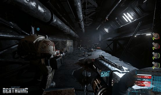 Catch 17 Minutes of Space Hulk: Deathwing Gameplay Straight From the Campaign