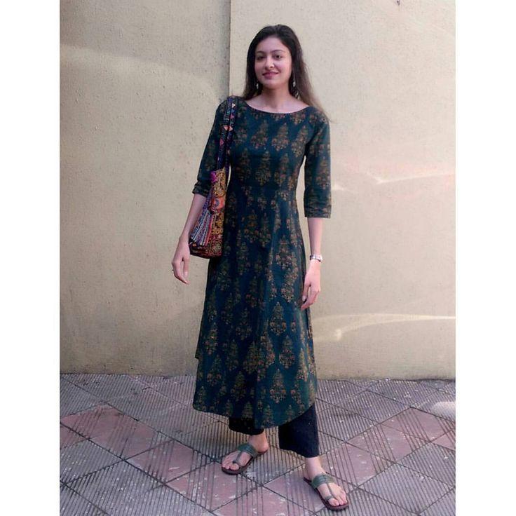 "71 Likes, 10 Comments - TANTU - Weaves At Work (@tantuweaves) on Instagram: ""Founder of Tantu in her own creation. Monday work wear!  #tantu #ajrakh #kurta #workwear #vsco…"""