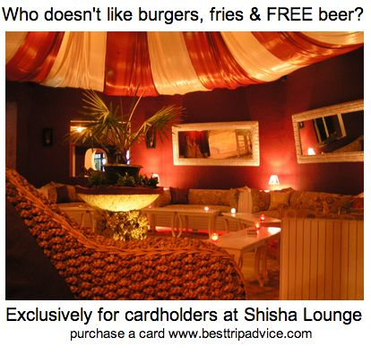 Free Bintang with Burger & Fries.  Winning combo exclusive for our cardholders.  Cheers!