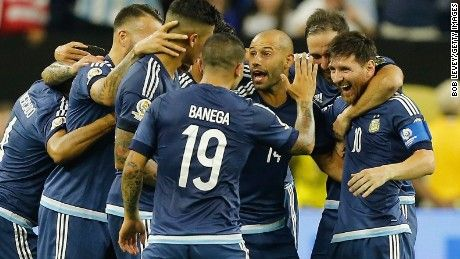 World No. 1 Argentina cruised into the Copa America soccer final with a 4-0 victory over the United States on Tuesday.