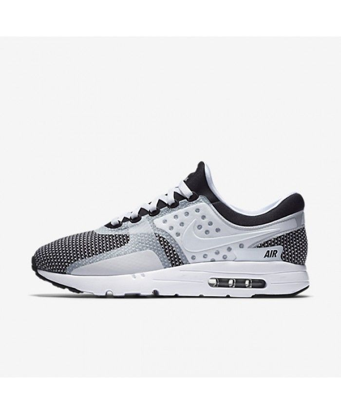 Nike Air Max Zero Essential White Black Wolf Grey Unisex Shoes