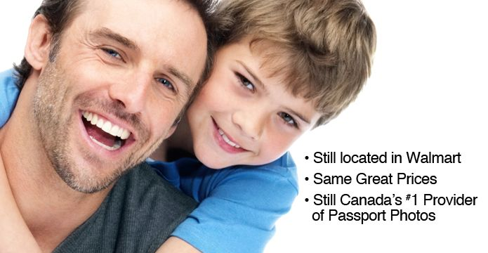 Bring dad to the Photos Unlimited Portrait Studio in Walmart! Canada's #1 Provider of passport pictures