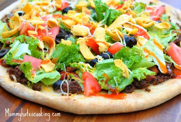 Taco Pizza (Mom hates cooking pizza): Pizza Recipe, Dinners Recipe, Menu Plans, Plans Mondays, Pizza Ideas, Delicious Recipe, Food Pizza, Tacos Pizza, Tacos Tuesday