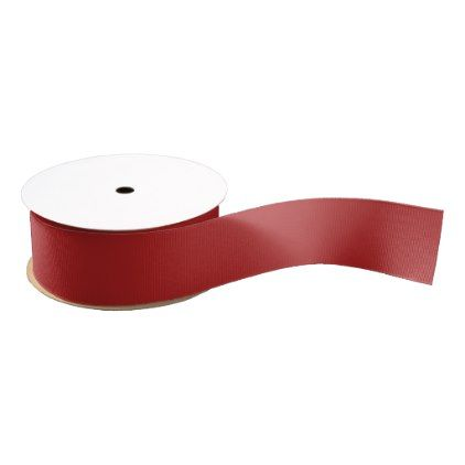 Firebrick Grosgrain Ribbon  $12.90  by SpookyColors  - custom gift idea