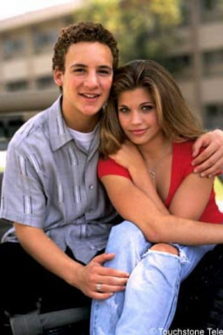 Ben Savage and Danielle Fishel - Cory & Topanga:  Boy Meets World