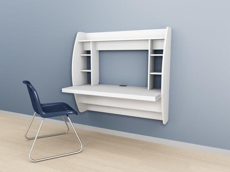 Wall Mounted Folding Desk Rustikale Home Office Möbel