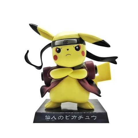 Funny Pikachu Cosplay PVC model toy