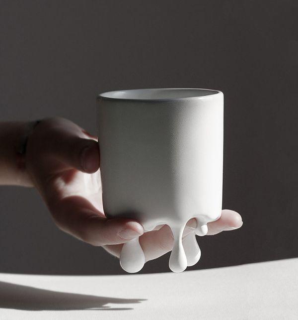 melt mug by Lenka Czereova, via Behance