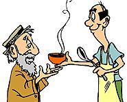 clipart of soup kitchen | Volunteer Opportunities | Homeless People | Poor | Hot Meals | Free ...