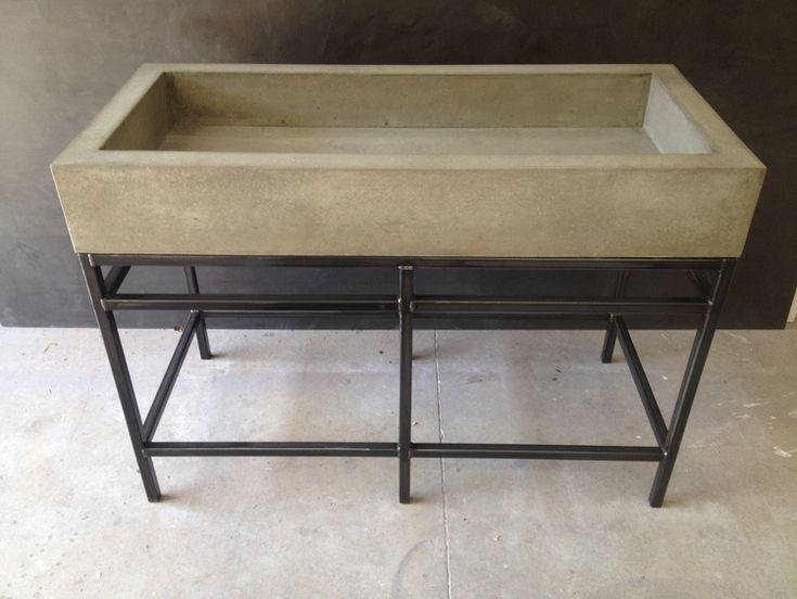 Best 25+ Concrete Sink Ideas On Pinterest | Concrete Basin, Concrete Sink  Bathroom And Concrete Bathroom