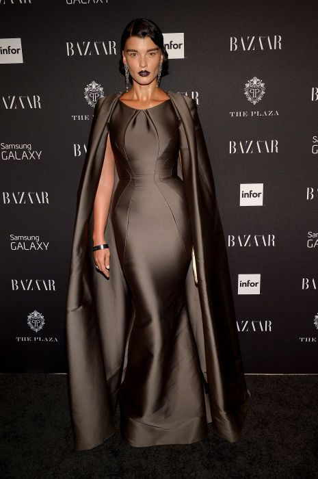 "<p tabindex=""-1"" class=""tmt-composer-block-format-target tmt-composer-current-target"">Crystal Renn at the <em>Harper's Bazaar </em>Icons party. Photo: Getty Images</p>"