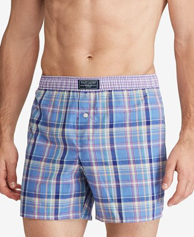 Polo Ralph Lauren Men's Plaid Boxers