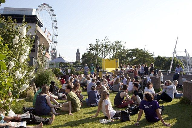 Southbank Centre's Roof Garden on the Queen Elizabeth Hall8