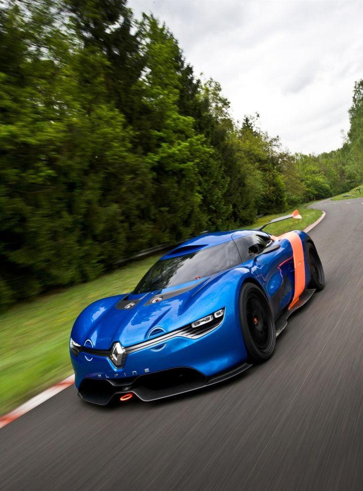 ♂ Blau car Renault Alpine A110 50 Concept 2010