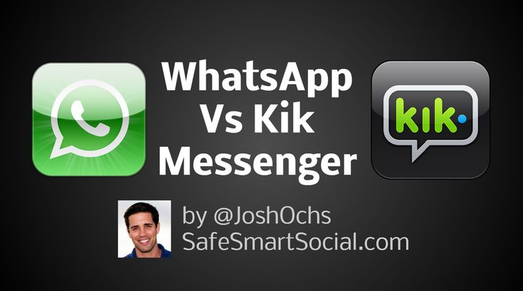Thanks to our friends at PocketNow, who created a great video to show the difference between WhatsApp vs Kik Messenger, two extremely popular apps kids are using.