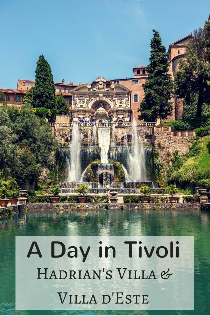 History and beauty collide on a tour of tivoli italy for Be italia