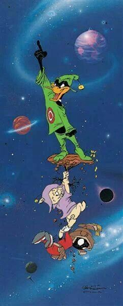 Duck Dodgers finale  ...follow Marvin at http://marvin-martian.weebly.com