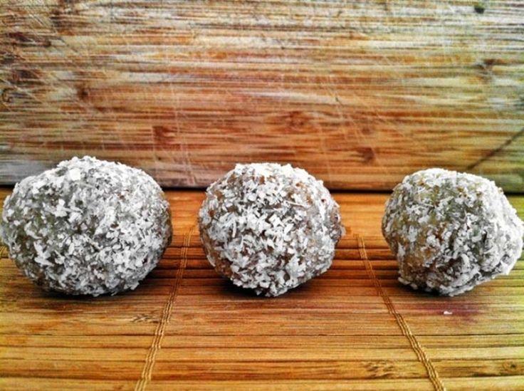 7. 20 #calories faibles en #glucides grillé coco #protéine brownie #morsures - 8 indulgent sans #sucre Desserts que vous #devriez essayer... → Food