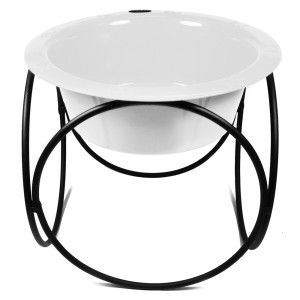 Platinum Pets Olympic Diner Stand Dog Bowl
