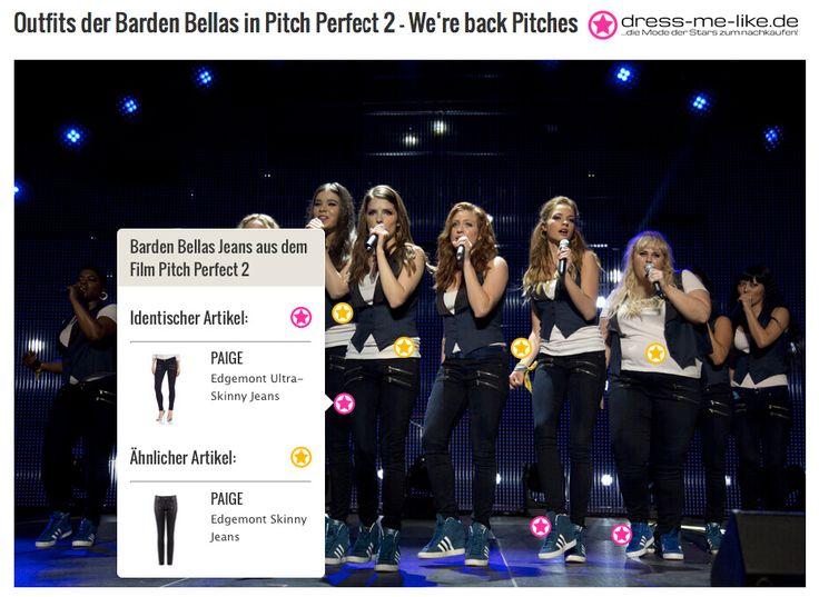 Barden Bellas Jeans (PAIGE) aus dem Film Pitch Perfect 2