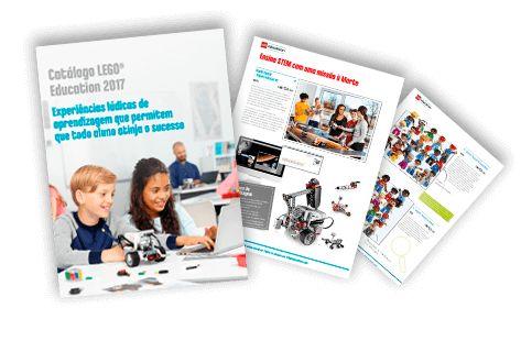 Catálogo LEGO® Education 2017 - Landing page | Positivo - Tecnologia Educacional