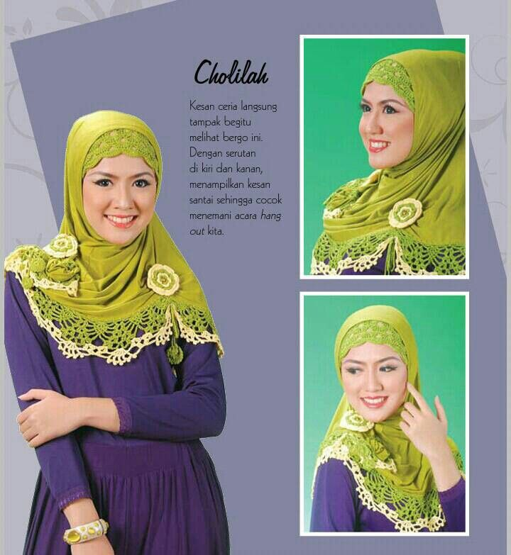 Hijab Rajut CHOLILAH