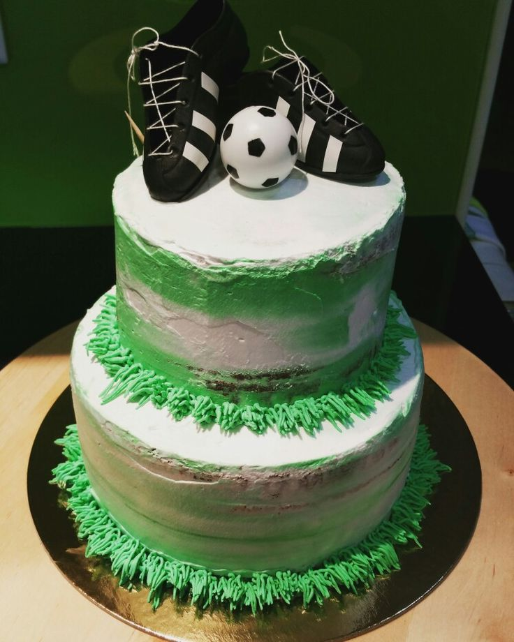 Bolo de aniversário, tema futebol