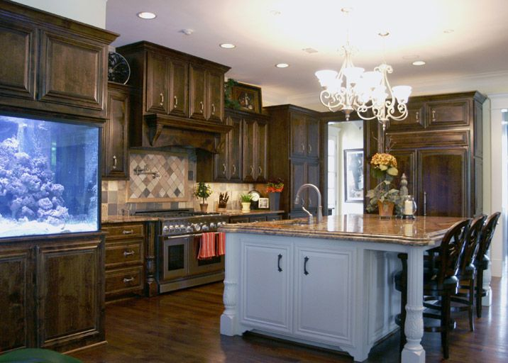 14 best images about cabinets island and hardwood floor for Alder wood for kitchen cabinets