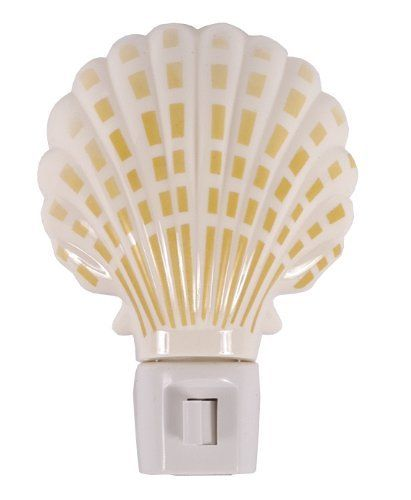 GE 54690 Sea Shell Incandescent Night Light by GE. $2.78. From the Manufacturer                The Sea Shell Night Light allows you to personalize a room that matches your style.                                    Product Description                Night Light,Auto White - 1 Pack