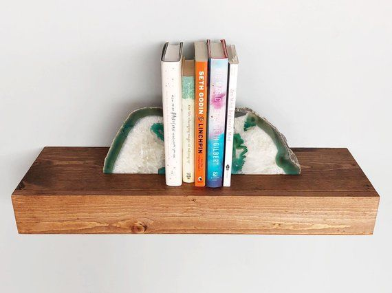 Hidden Bracket Floating Shelves True Floating Shelves Open Kitchen Shelves Farmhouse Shelves Lau Floatingshelvesnexttotv Floatingshelvesentertainmentcente