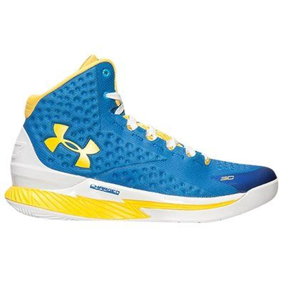 Under Armour Curry One Youth Basketball Shoes - Team Royal/Taxi