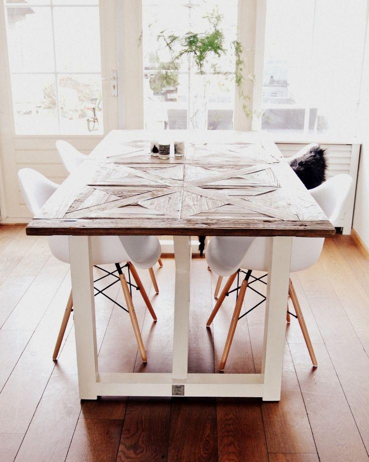 Eames DAW chair vs Riviera Maison table