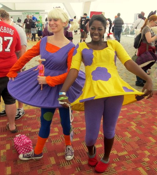 Angelica and Susie Costume