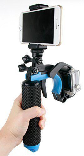 DURAGADGET Poignée flottante avec gâchette pour Mini caméra Uvistar Camera, Vtech 170705, WiMiUS Q1 et Yuntab A9, Zeblaze ishot1 – Garantie…