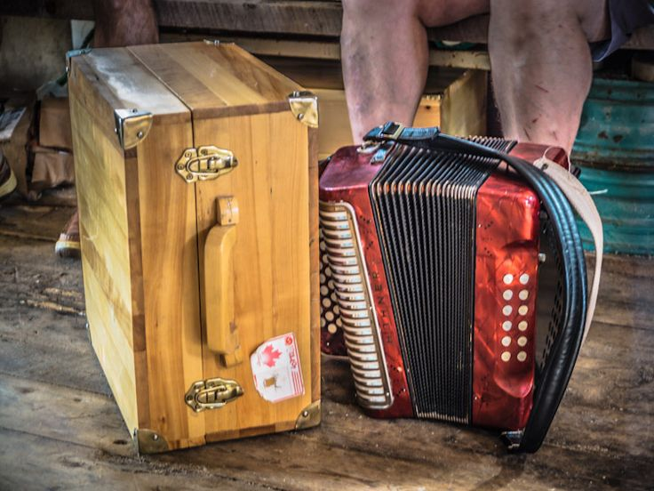 The Beaches Accordion Festival on Newfoundland's Eastport Peninsula provides an authentic look at our culture featuring accordion players on fishing stages.