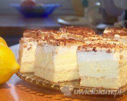 Uwielbiam.pl - przepis na Ciasto cytrynowe pyszne