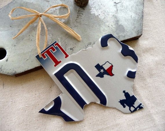 Texas License Plate Ornament