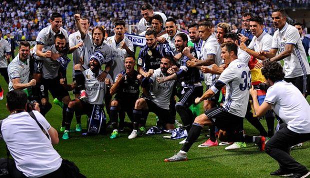 Juara La Liga Adalah Hadiah Atas Fokus Real Madrid Musim 2016/2017